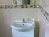 550mm Vanity basin & inline lever tap