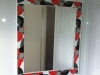 Custom made mirror from border tile